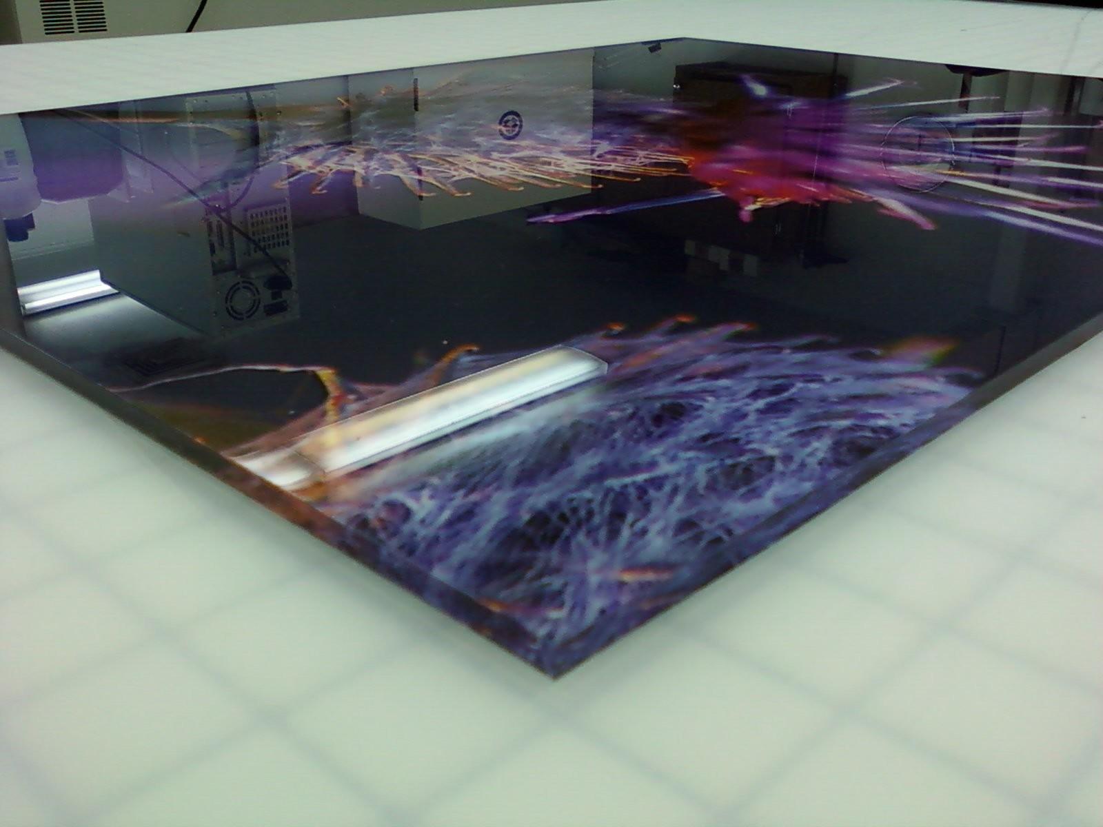 3mm Acrylic Printers Direct To Acrylic Panel Printing