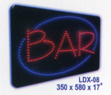BAR Animated Led Sign Low cost L.E.D. sign.