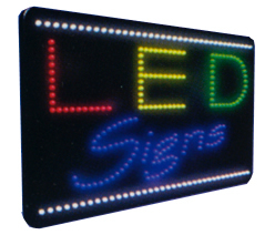 LED signs Animated Led Sign Low cost L.E.D. sign.