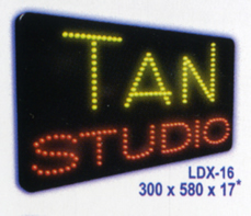 TAN STUDIO Animated Led Sign Low cost L.E.D. sign.