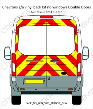 Ford Transit New 2014 to 2016 H2 Medium Roof