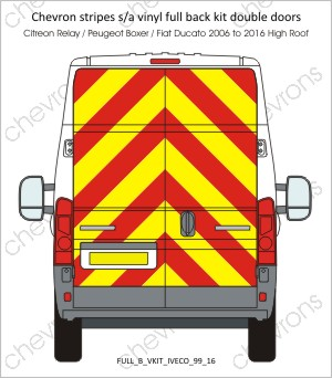 Iveco Daily Medium Roof 1999 to 2016