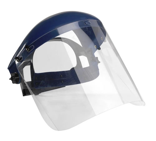 Bolle Face Shield Complete Simple to Adjust and Flip-up visor