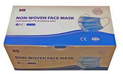 3 Ply disposable medical flu dust blue face masks 50 to 1000 packs