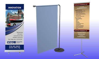 UK roll up banner stand suppliers