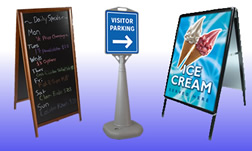 Suppliers of pavement signs