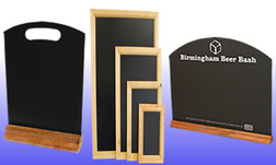 Suppliers of pub chalkboards