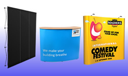 Suppliers of pop up exhibition stands