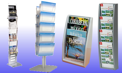 Suppliers of literature dispensers UK