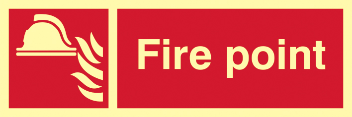 UK Fire Safety & Safe Condition Photoluminescent