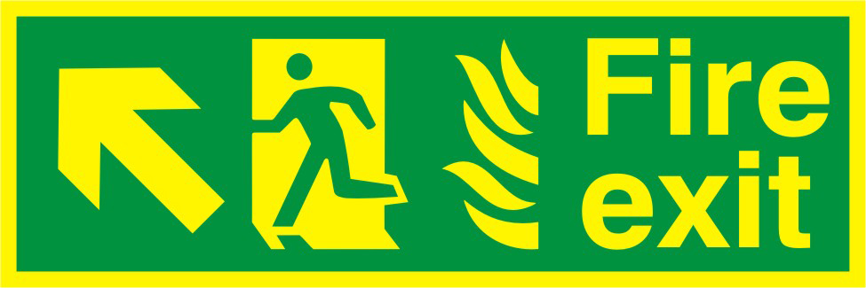 UK Fire Safety & Safe Condition Fire Exit