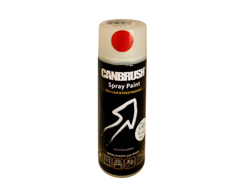 Canbrush 400 ml Sparkling Red Paint C46 DGN - OUT OF STOCK