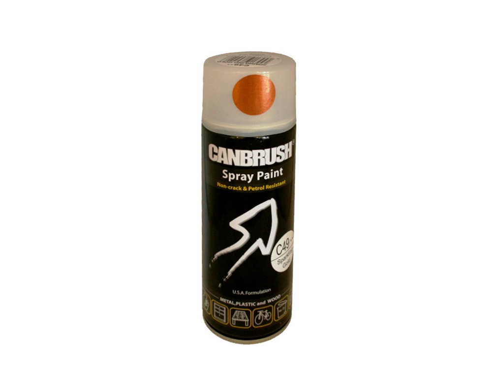 Canbrush 400 ml Sparkling Gold Paint C49 DGN - OUT OF STOCK