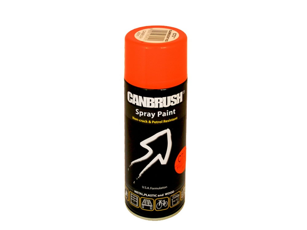 Canbrush 400 ml Fluorescent Red Paint C72 DGN - OUT OF STOCK