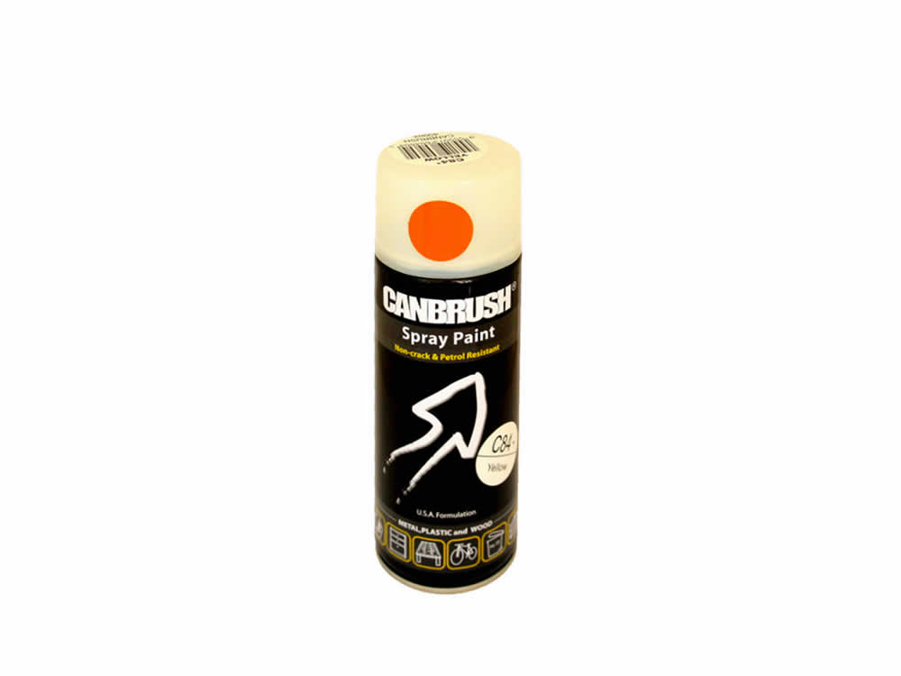 Canbrush 400 ml Yellow Paint C84 DGN OUT OF STOCK - OUT OF STOCK