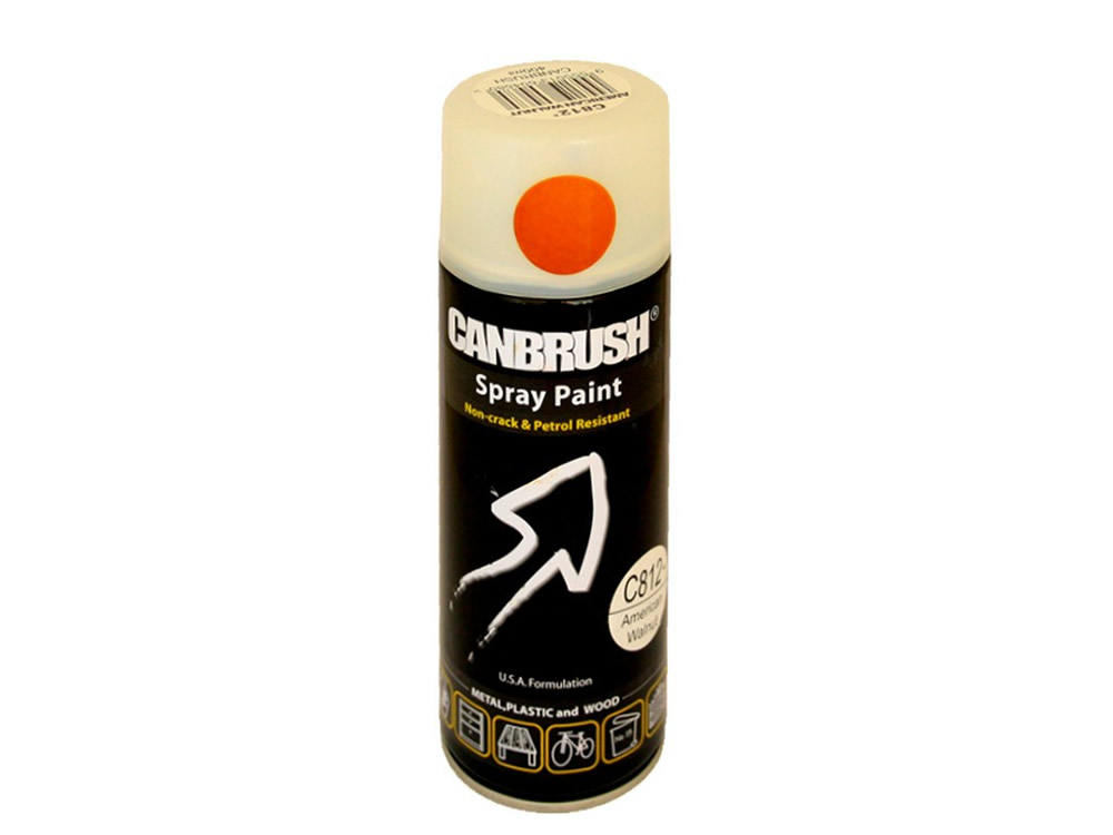 Canbrush 400 ml American Walnut Paint C812 DGN OUT OF STOCK - OUT OF STOCK