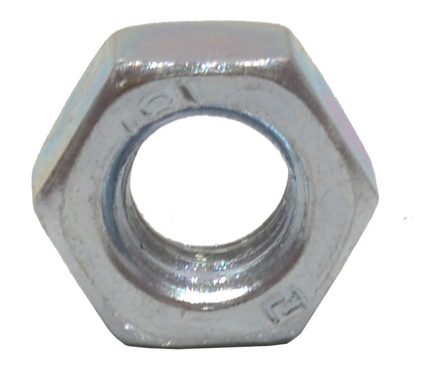 M8 Zinc Plated Steel Hex Nuts