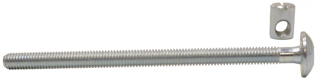 M6 x 100 mm Furniture Bolts and Nuts