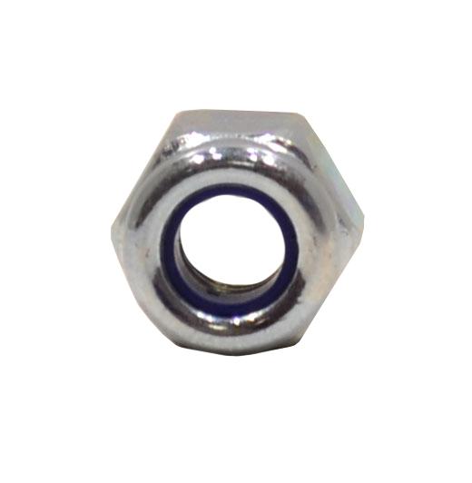 M4 Zinc Plated Nylon Locking Nuts