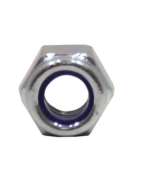 M5 Zinc Plated Nylon Locking Nuts