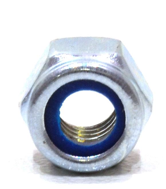 M6 Zinc Plated Nylon Locking Nuts
