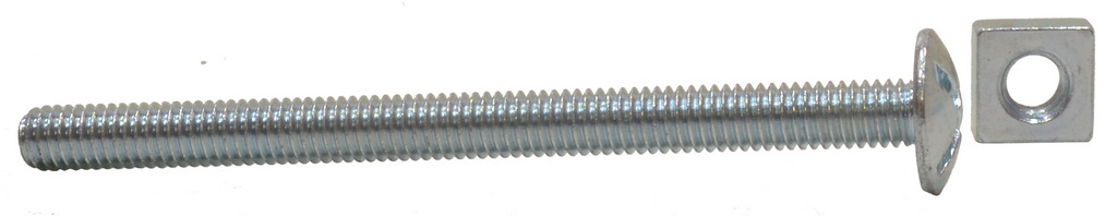 M6 x 60 mm Zinc Plated Roofing Bolts