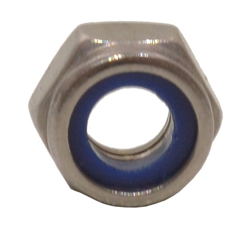 M6 Stainless Steel Nylon Locking Nuts