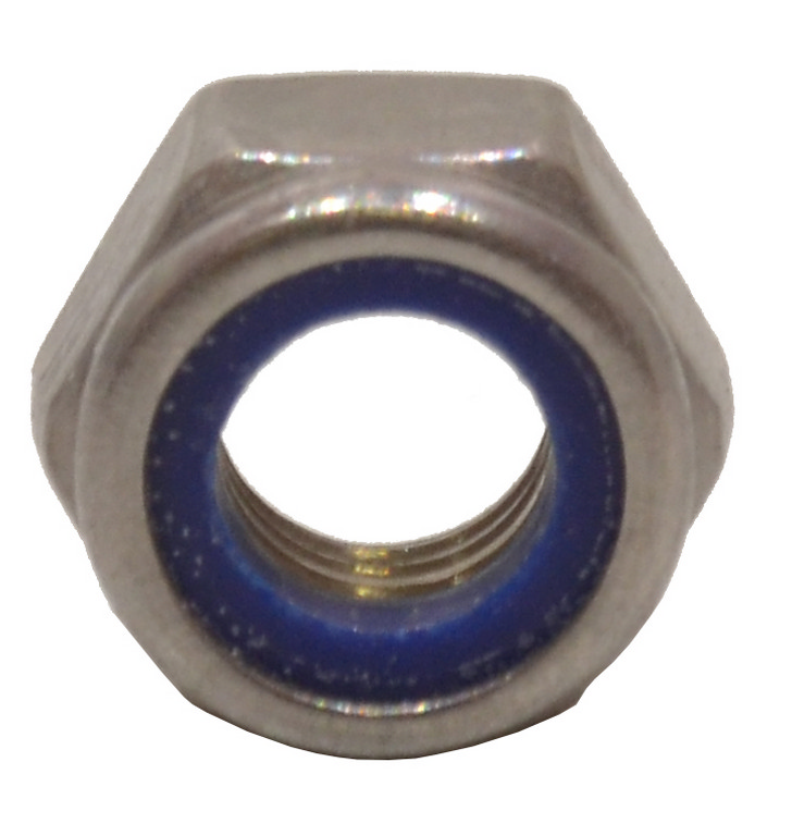 M8 Stainless Steel Nylon Locking Nuts
