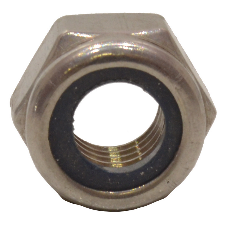 M12 Stainless Steel Nylon Locking Nuts