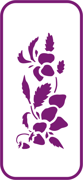 UK Harmony Mini Stencils Decorative Stencils