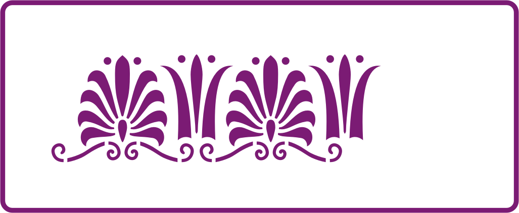 UK Harmony Border Stencils Decorative Stencils