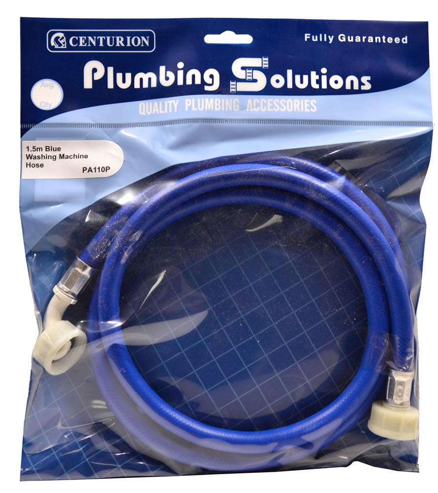 1.5 metres Blue Washing Machine Hose sign