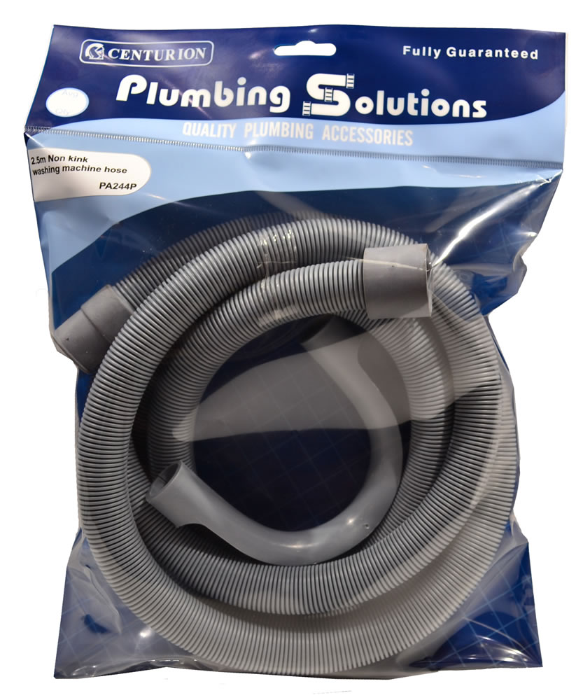 2.5 metres Outlet Washing Machine Hose sign