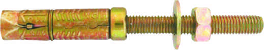 M10 x 15 mm Expanding Projection Bolt Packet of 2