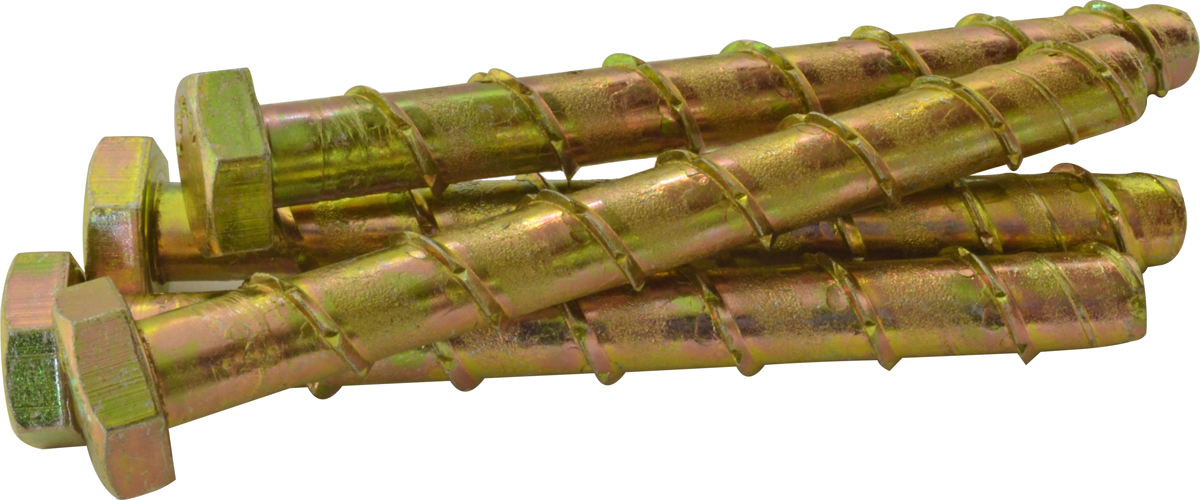 M8 x 75 mm Thunder Bolts Packet of 4