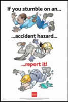 RoSPA Safety Poster - If you stumble on an accident Laminated