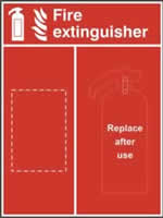Fire extinguisher Location Panel 600 x 800mm