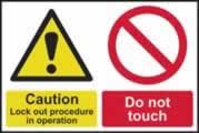 1mm rigid PVC plastic signs (non adhesive)