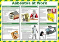 Safety Poster - Asbestos at work