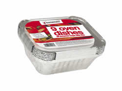 Medium Foil Containers and lids Packet 9
