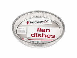 6 Packet Large Flan dish
