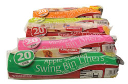 Scented Swing Bin Bags Asst 20 pack