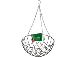 12 inch Green Hanging Basket