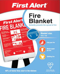 1m x 1m First Alert Fire Blanket