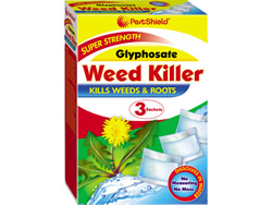 3 Packet Glyphosate Weed Killer