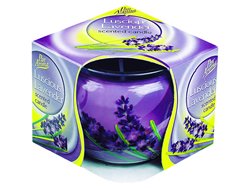 Luscious Lavender Sleeved Candle