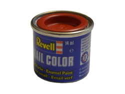 Fiery Red Silk Hobby Paints DGN