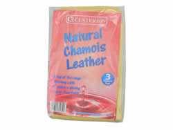 3 sq ft Natural Chamois Leather