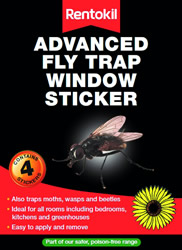 FW35 Advanced Fly Trap Window Stickers 4 s DGN