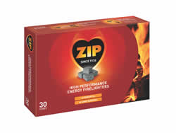 Zip Energy Original Firelighters 30 Packet DGN